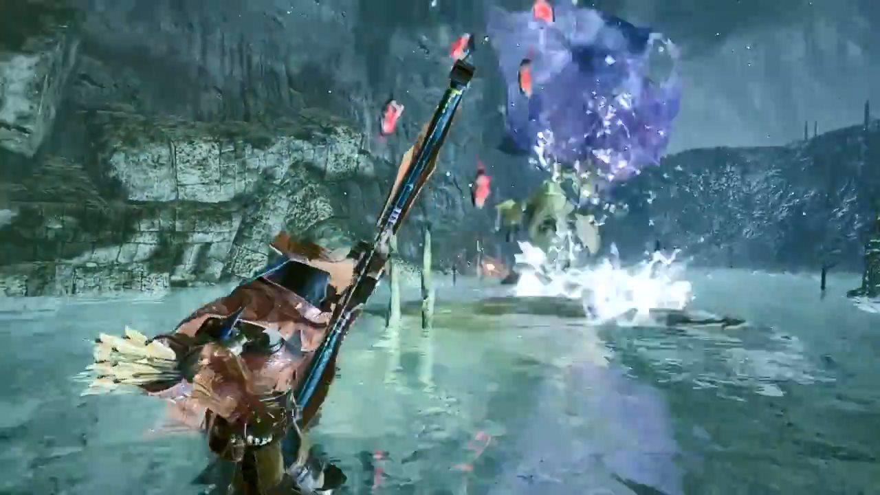 《怪物猎人:崛起》新演示 凶猛食人鱼虎口夺食