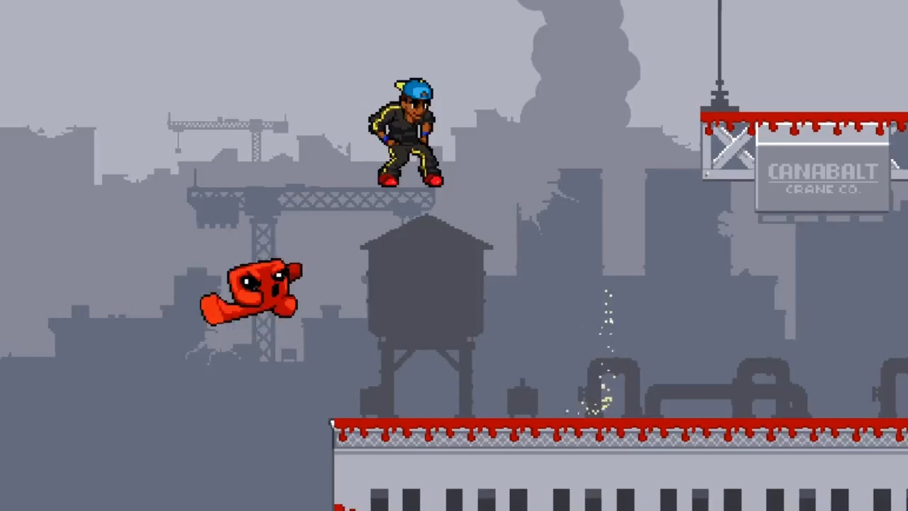 食肉男孩2021年1月加入乱斗游戏《Indie Pogo》