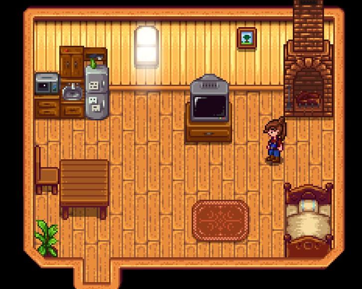 《星露谷物语》1.5带厨房的基础房屋MOD