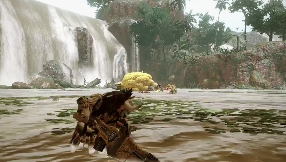 《怪物猎人:崛起》水兽·毒狗龙演示  练刀可以有