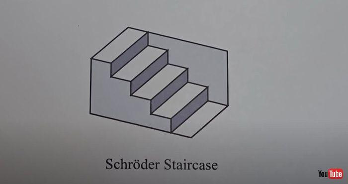 岛国高玩发明经典诡异阶梯3D版《视错觉大赛》优秀作品欣赏