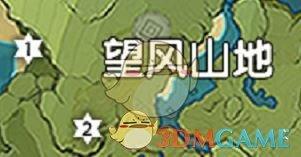《原神》望风山地风神瞳位置地图分享