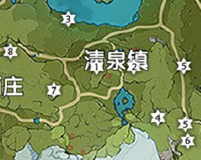 《原神》清泉镇风神瞳位置地图分享