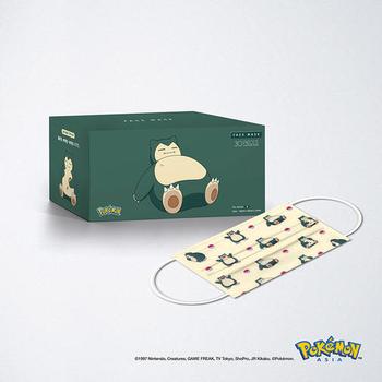 香港厂商Medox推出宝可梦口罩 每盒108元