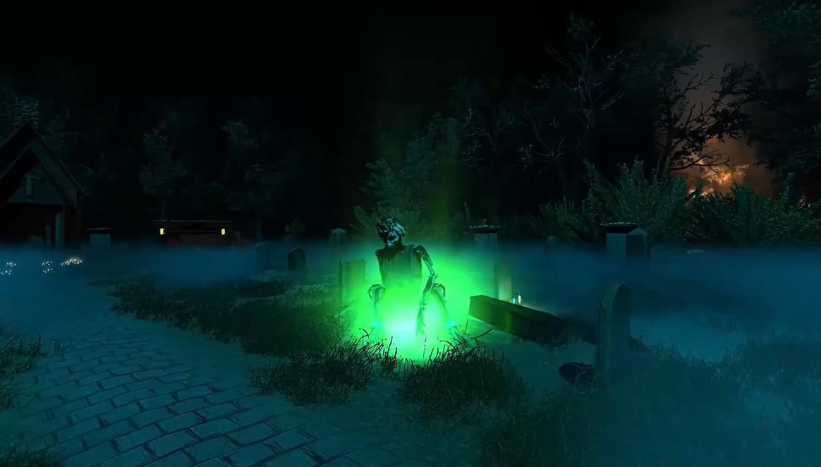 冒险驱魔游戏《圣徒》正式发售 扮演牧师对抗邪魔