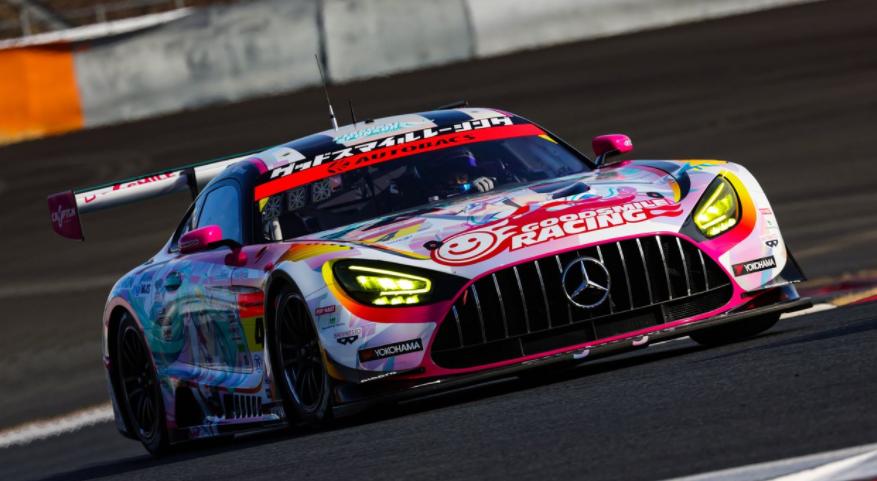 初音未来官方GT赛车公开 采用奔驰AMG车型将实战GT大赛