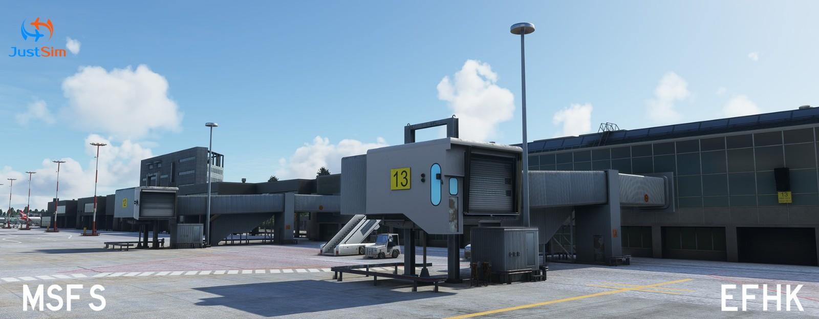 北欧交通枢纽《微软飞行模拟》赫尔辛基机场包推出