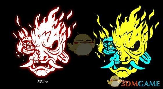《赛博朋克2077》4色武士图标