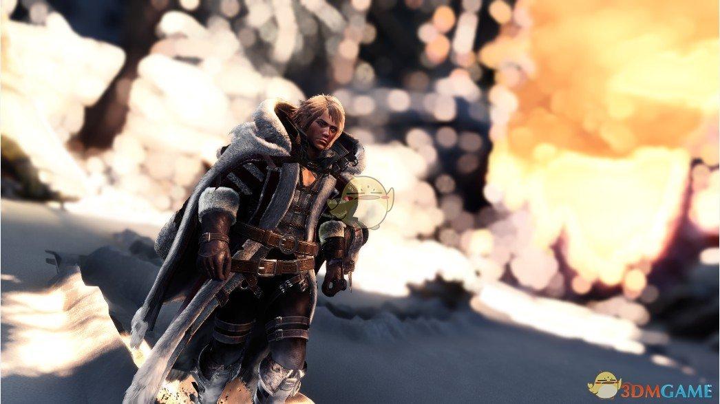 《怪物猎人:世界》多层男性冬装MOD
