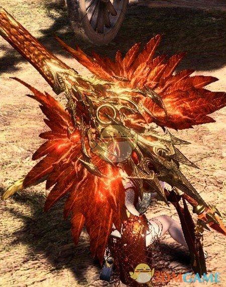 《怪物猎人:世界》金鸿之翼盾斧MOD