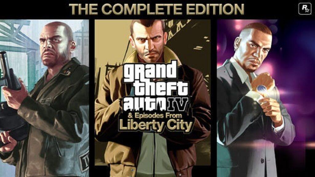 PS5版《GTA4》完整版短暂上架亚马逊 售价260元