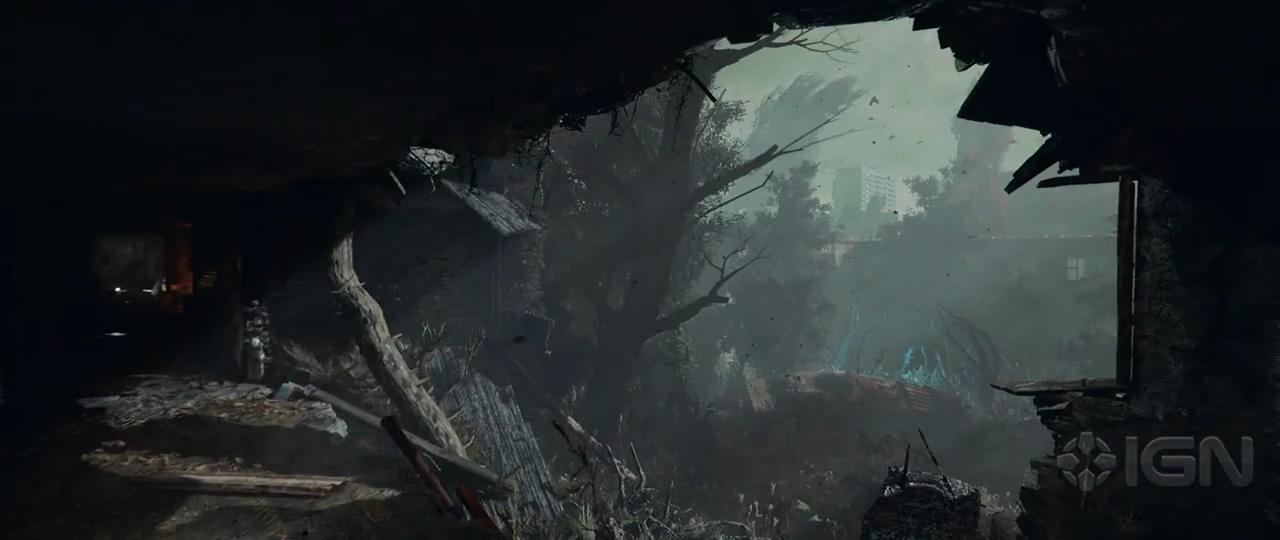 《潜行者2》公开全新预告 场景阴暗破败