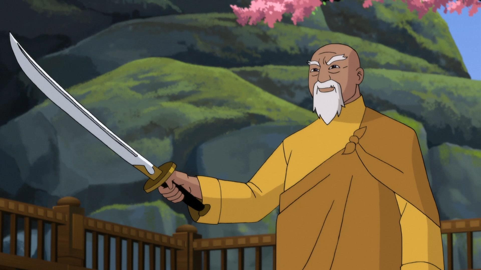 DC动画《蝙蝠侠:龙之魂》新片段 武术大师介绍名刀