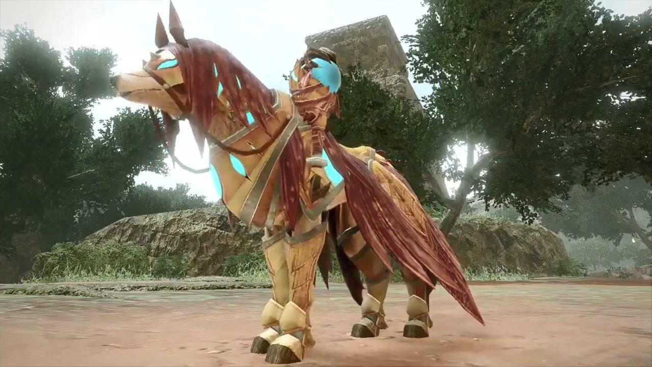 《怪物猎人:崛起》人鱼龙防具展示 形似古代占卜师
