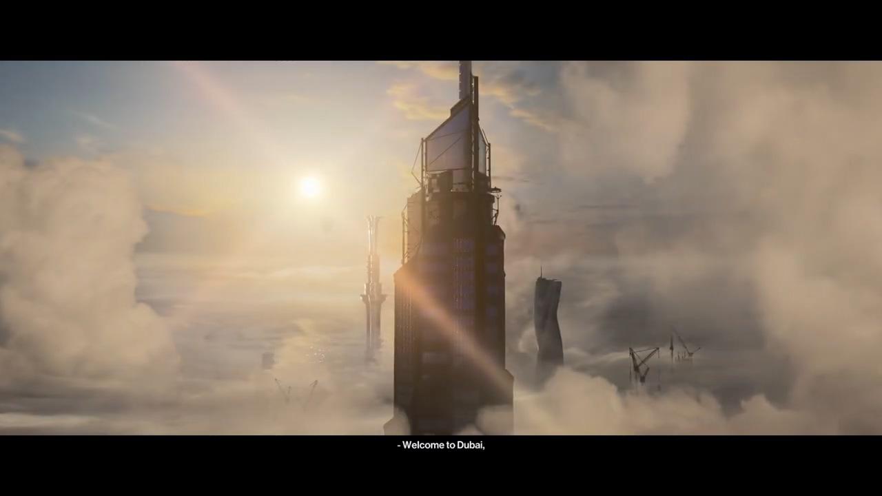 《杀手3》开场5分钟演示 47攀爬世界第一高楼