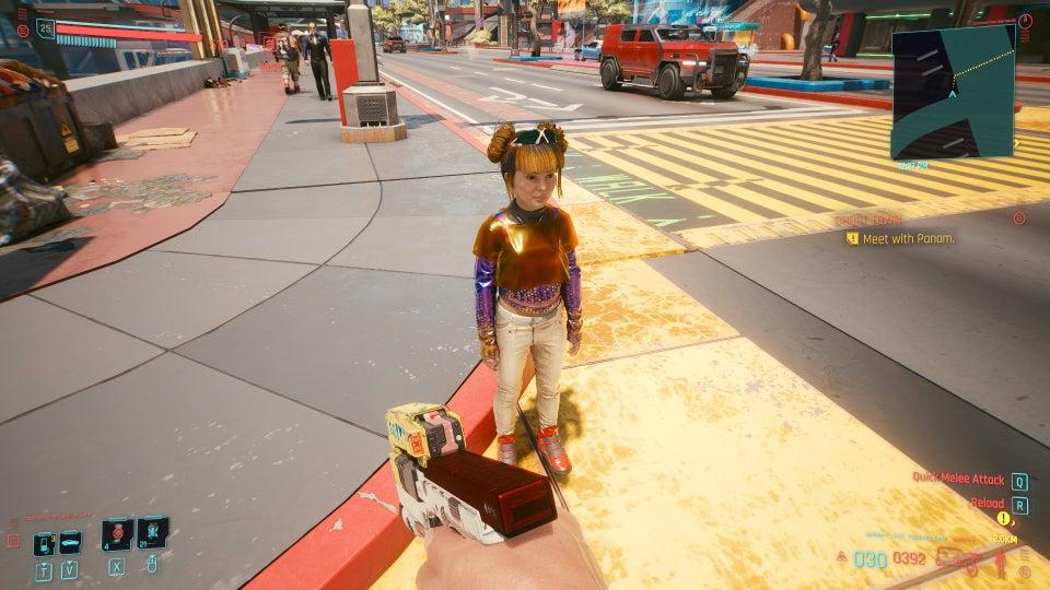 《赛博朋克2077》《刺客信条:英灵殿》的儿童模型真的很吓人