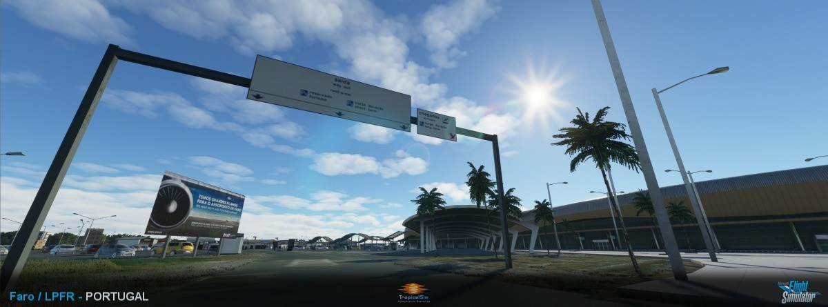 TropicalSim推出《微软飞行模拟》法鲁机场附加包