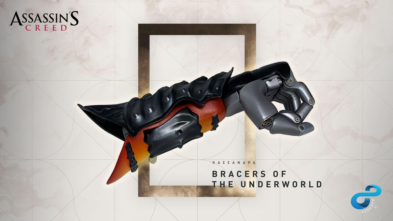育碧与著名机构合作打造《刺客信条:奥德赛》风格义肢