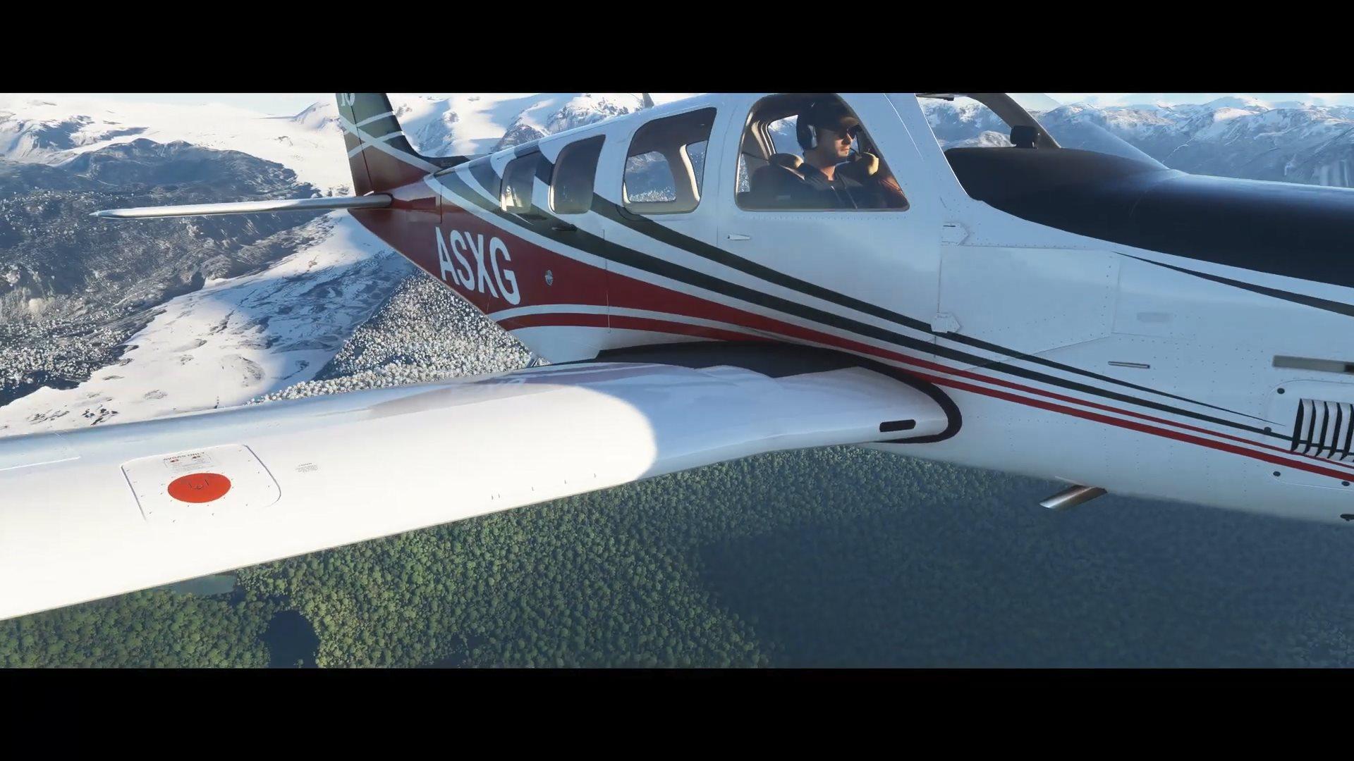 《微软飞行模拟》加入冰雪天气效果 与现实世界保持一致