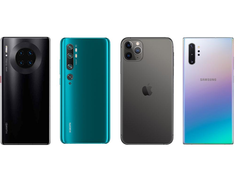 外媒票选2020年最烂手机设计:凑数浴霸镜头 取消