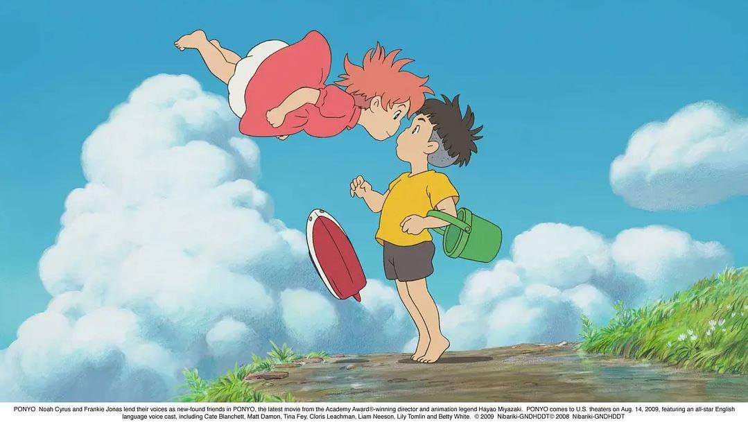 《崖上的波妞》公开新贺图 庆贺宫崎骏80岁生日