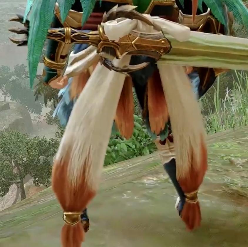 《怪物猎人:崛起》天狗兽防具展示 充满野性的味道