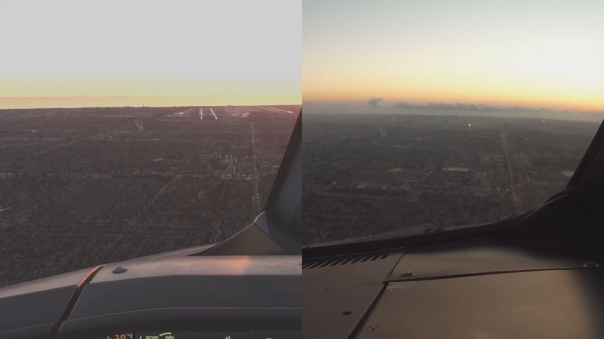 足可以假乱真 《微软飞行模拟》游戏与现实场景对比