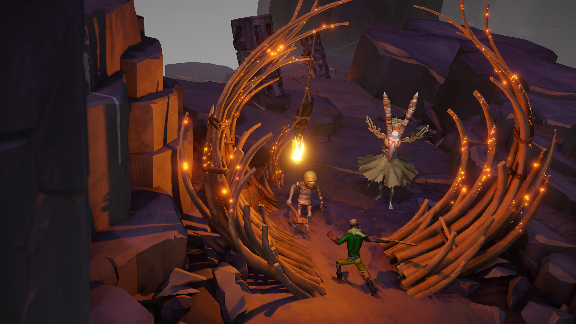 人类合力对抗神明 《征服诸神》公开玩法预告视频