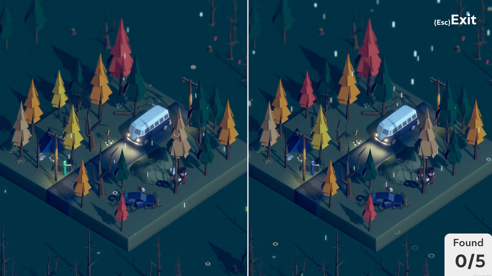 大家来找茬 3D找不同游戏《Tiny Lands》上架Steam