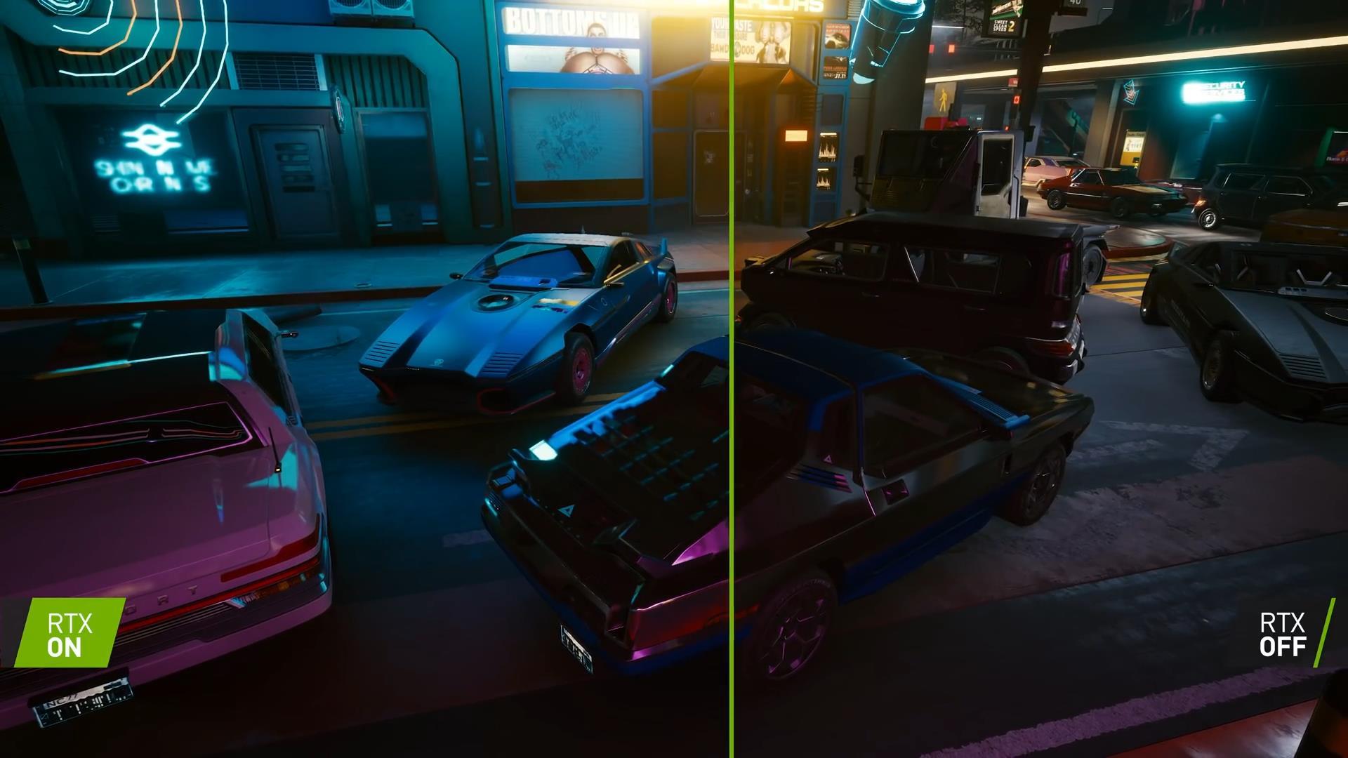 《赛博朋克2077》RTX光追新宣传片 夜之城魅力大