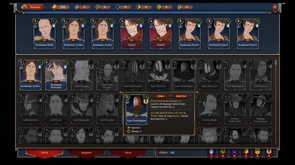 战术卡牌新游《诸神灰烬:朝圣之路》上架Steam
