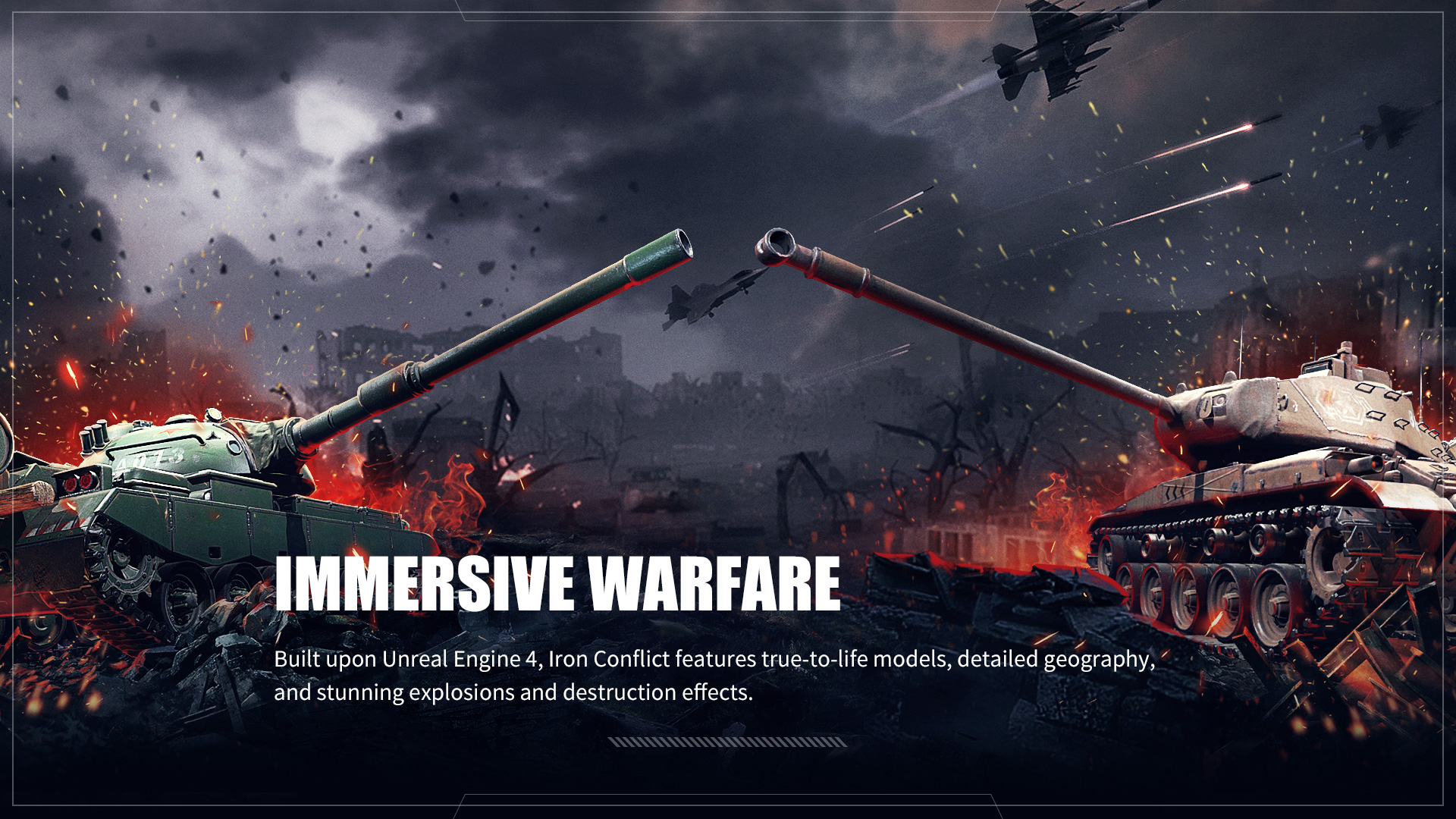 军事迷看过来!近现代战争RTS游戏《烈火战马》今日开启Steam抢先体验