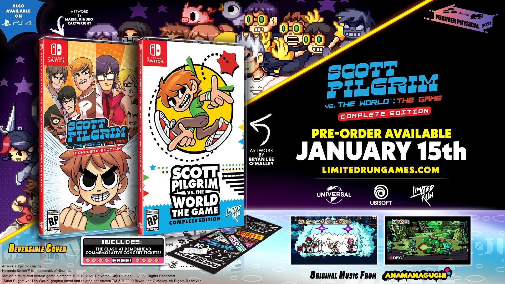 育碧《歪小子斯科特对抗全世界完全版》推出限量实体版