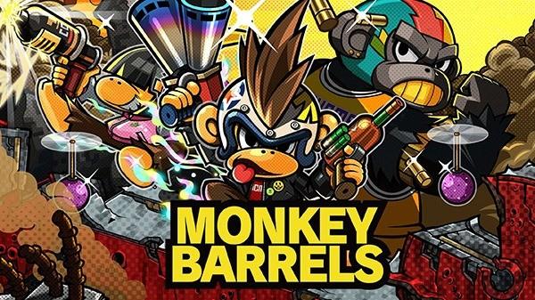 原NS游戏《猴子桶战》将于2月6日登陆PC 售价8.99美元