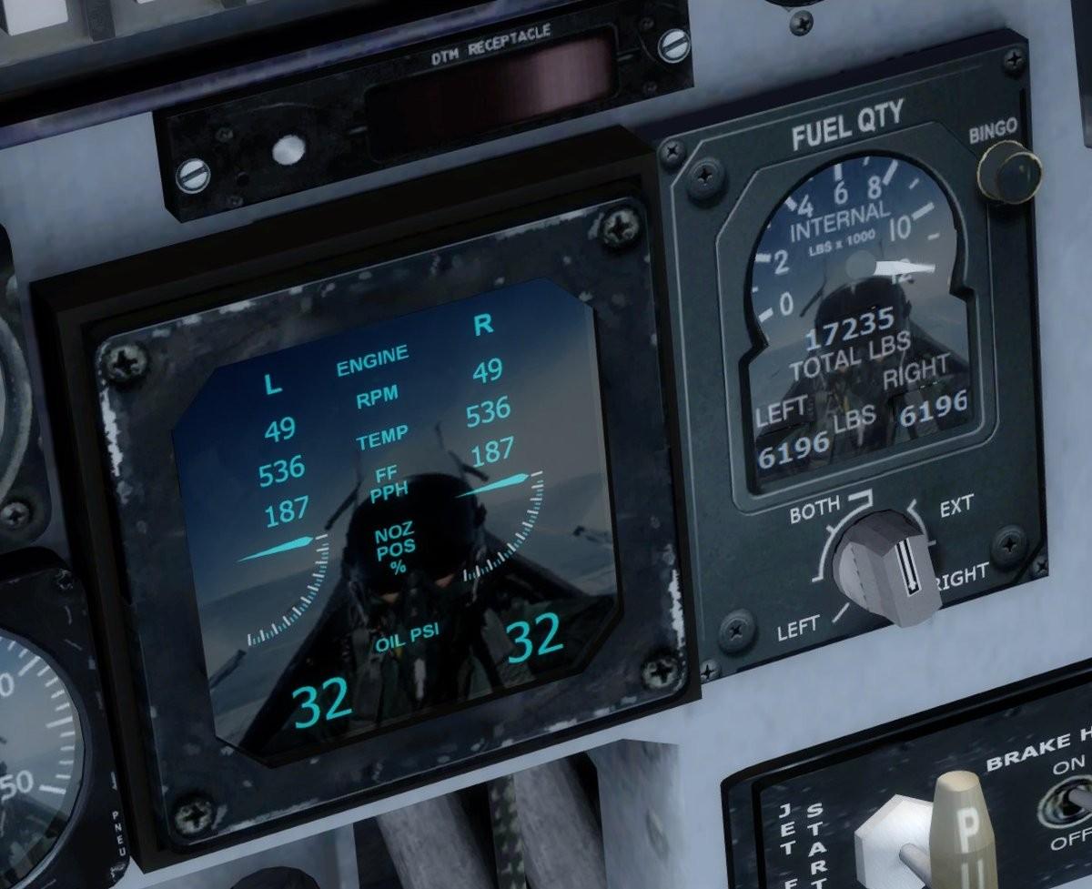 在《微软飞行模拟》快要可以驾驶F-15战斗机了