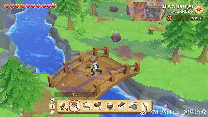 游戏新消息:牧场物语橄榄镇与希望的大地新图从零开始的牧场生活