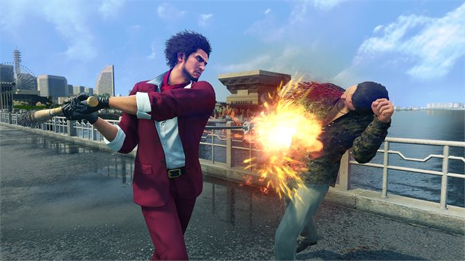 Xbox/Win10《如龙7》国际版2月25日发售 包含中文、早期特典