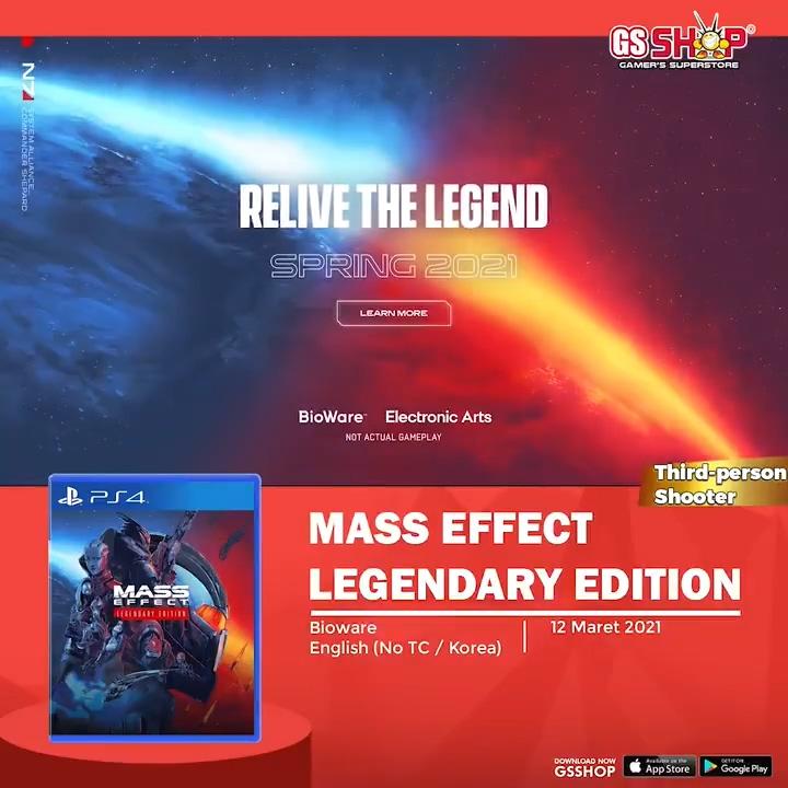 游戏新消息:零售商GSSHOP质量效应传奇版3月12日发售