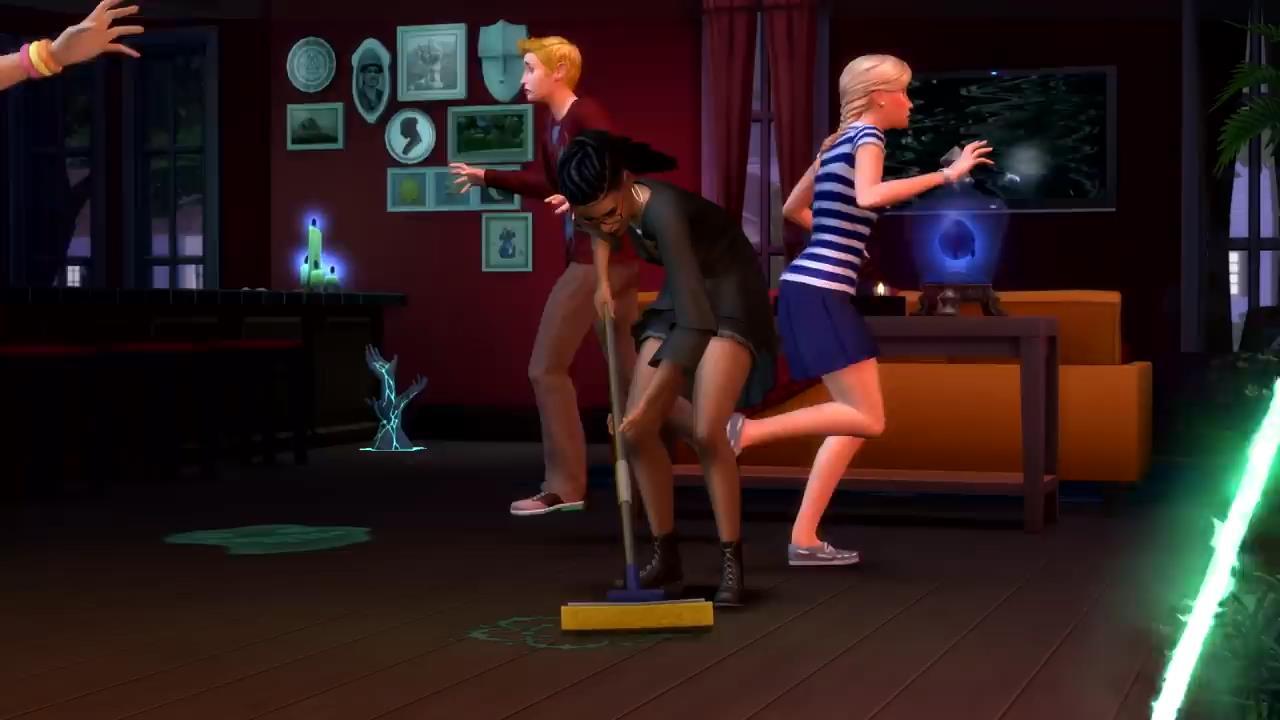 """《模拟人生4》DLC""""灵异追击""""公布 去鬼屋驱魔"""