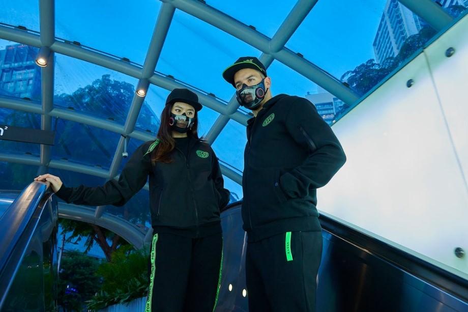 2077的科技感!雷蛇推出N95光污染RGB概念口罩