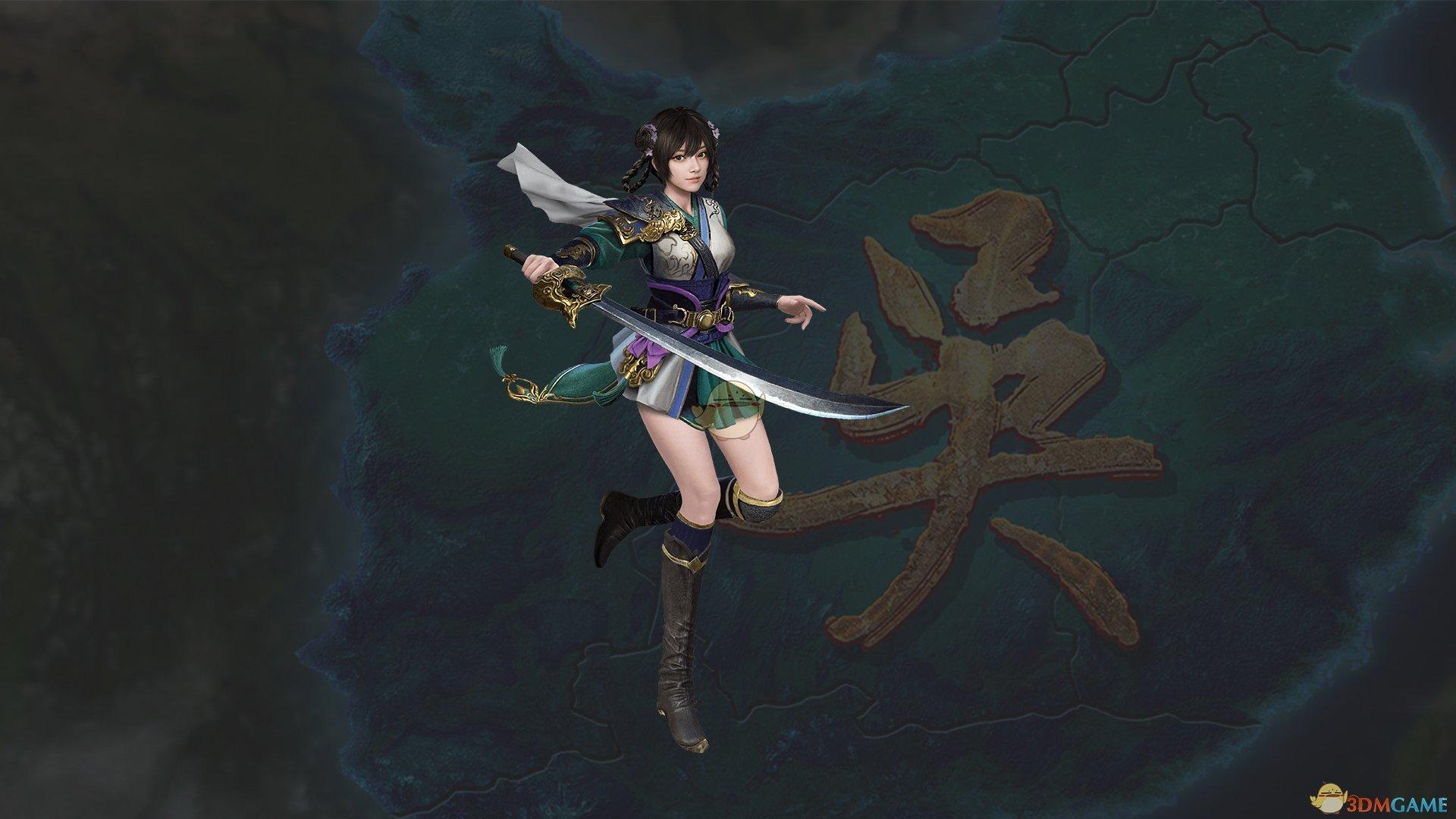 《三国群英传8》孙尚香武将图鉴