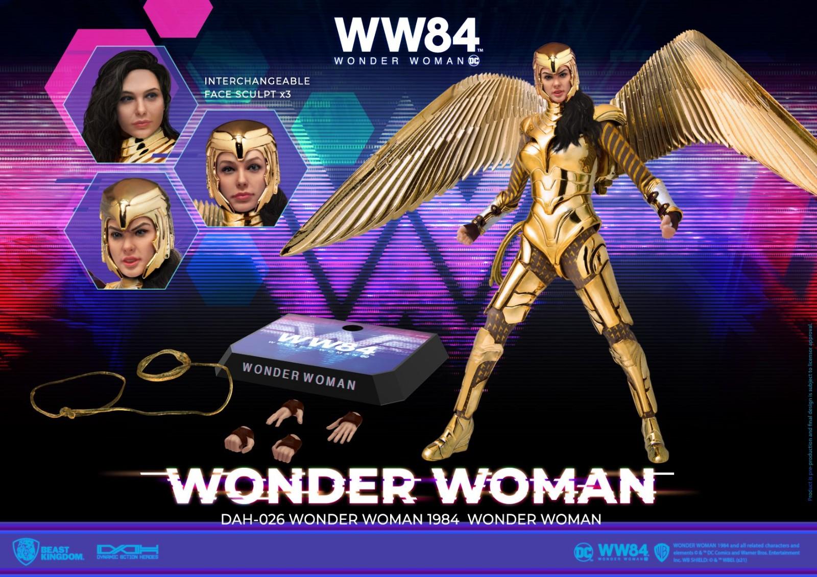 台湾厂商野兽国推出《神奇女侠1984》1/9金鹰战甲雕像 售价110美元