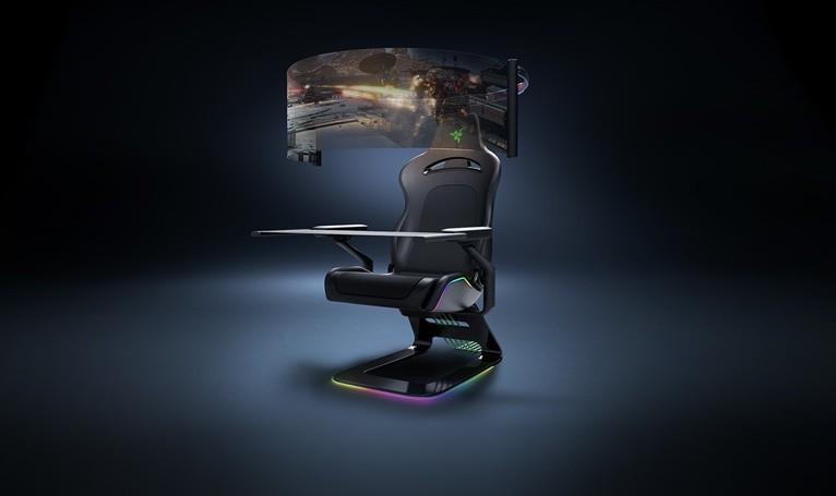 雷蛇发布次世代电竞椅 配有60英寸OLED屏幕 第1张