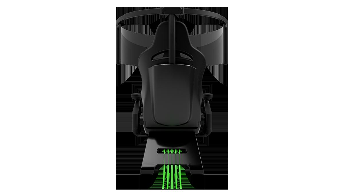 雷蛇发布次世代电竞椅 配有60英寸OLED屏幕