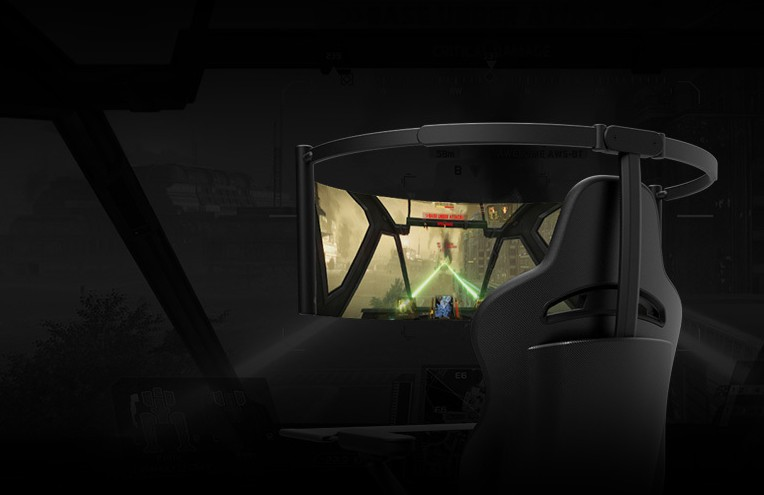 雷蛇发布次世代电竞椅 配有60英寸OLED屏幕 第5张