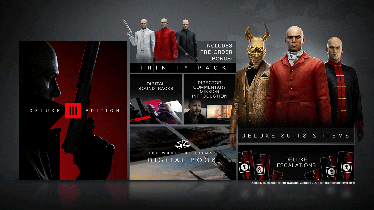IO Interactive发布《杀手3》豪华版官方开箱视频