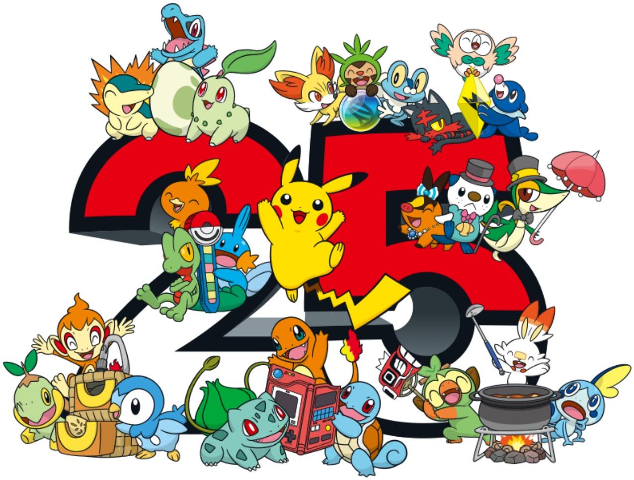 宝可梦与水果姐合作庆祝系列诞生25周年