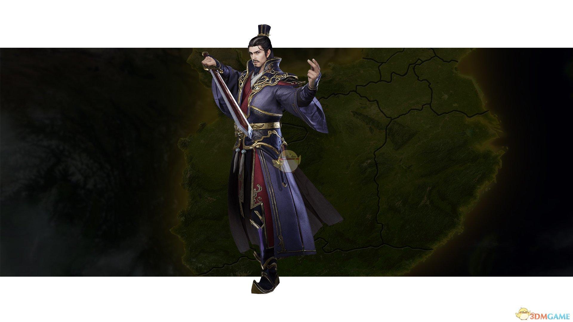 《三国群英传8》陈宫武将图鉴