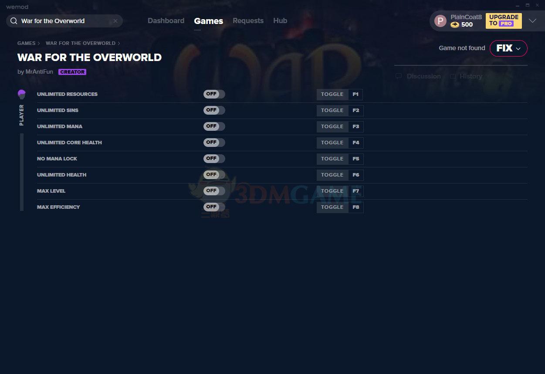 《超越世界战争》v2021.01.11八项修改器[MrAntiFun]