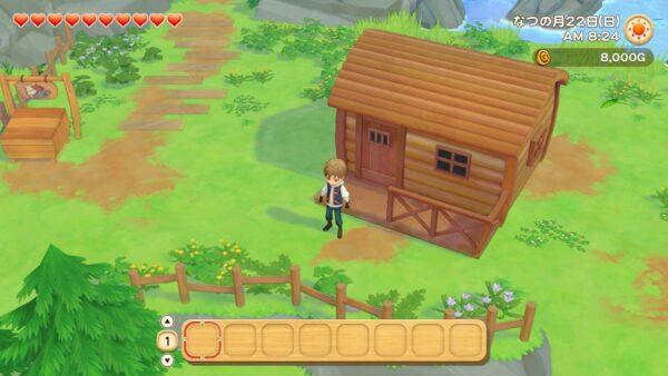 《牧场物语橄榄镇与希望的大地》新截图:角色自定义、拥有孩子等